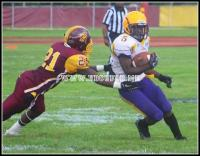Benedict Tigers run through Central State Marauders