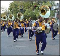 Miles College marching band