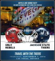 Jackson State Tigers vs UNLV Rebels