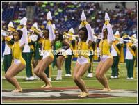 Kentucky State dancers take the field