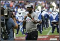 Rickey Smiley introduces the halftime show