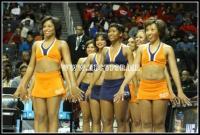 Virginia State University Woo Woo Cheerleaders