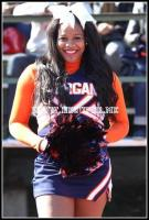 Morgan State University Cheerleader