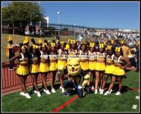 North Carolina A&T Cheerleaders