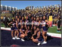 Howard University Bison Cheerleaders