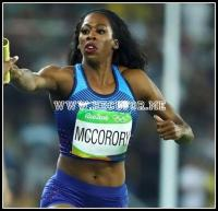 Francena McCorory wins her second Gold Medal