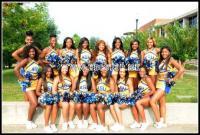 Albany State Rams Cheerleaders