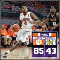 Coppin State falls to Clemson
