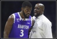 Hampton coach Ed Joyner