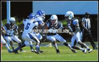 Chowan Hawks fly over Livingstone Blue Bears