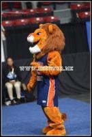 Lincoln U Lions Mascot