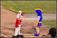Trojan and Ram mascots