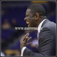 NCCU head coach LeVelle Monton