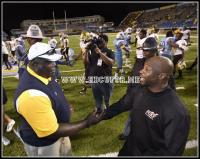 Southern head coach Odums & Alabama State head coach Jenkins