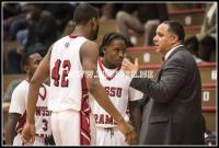WSSU coach James Wilhelmi